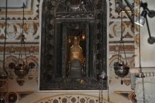 Back view of Black Virgin